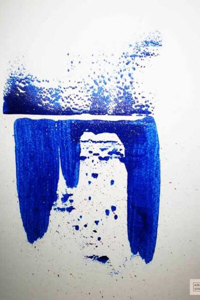 atelier KONG artist abstract artworks affordable prints Los Angeles artist Healing Blues
