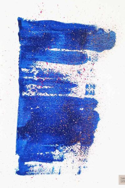 atelier KONG artist abstract artworks affordable prints Los Angeles artist Healing Blues Three