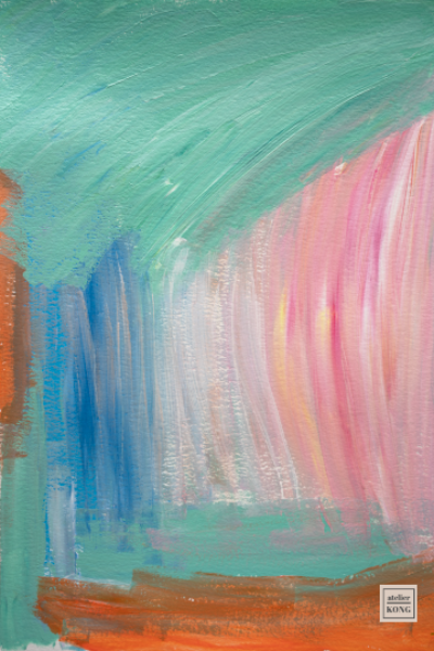 atelier-KONG-abstract-artist-affordable-art-prints-abstract-Green-Pink-Blue