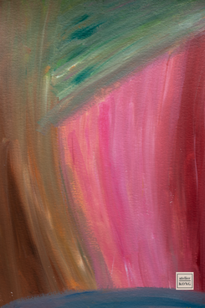 atelier-KONG-abstract-artist-affordable-art-prints-abstract-Pink-Brown-Green